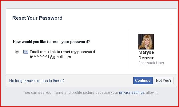 how to get facebook to update