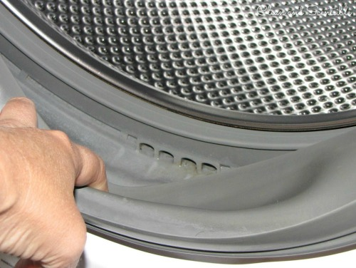 My Whirlpool duet front loader washer is holding water in