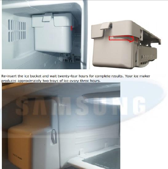 samsung french door refrigerator manual ice maker
